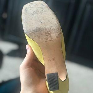 Escada Shoes - Escada Yellow Heel made in Italy 8